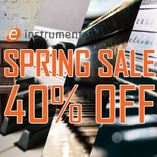e-instruments - Spring Sale - 40% OFF