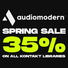 Audiomodern - Spring Sale - 35% OFF