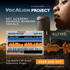 Synchro Arts - 33% Off VocAlign Project