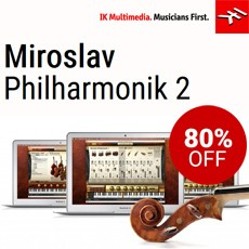 IKM - Up to 80% off Miroslav Philharmonik 2