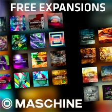 Native Instruments - Free Expansions mit Maschine