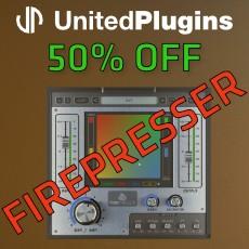 UnitedPlugins - 50% Off Firepresser