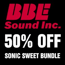 BBE Sound - 50% Off Sonic Sweet