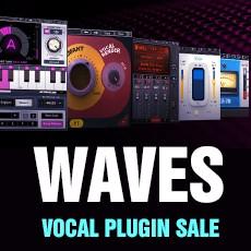 Waves Vocal Plugin Sale