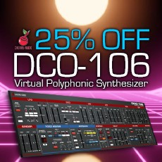Cherry Audio - 25% Off DCO-106