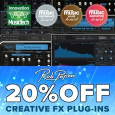 Rob Papen - 20% Off Creative Effect Plugins