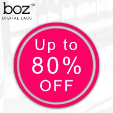 Boz Digital Labs Sale - Up to 80% Off