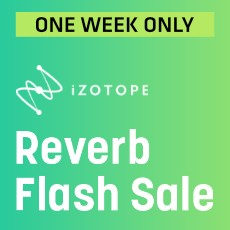 iZotope Reverb Flash Sale - Up to 90% Off