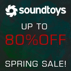 Soundtoys - Spring Sale - Up to 80% Off