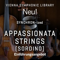 Neu: SYNCHRON-ized Appassionata Strings (sordino)