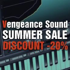 Vengeance Sound - Summer Sale: 20% Off