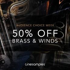 Cinesamples Audience Choice Week - 50% OFF