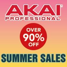 AKAI Summer Sales - Over 90% Off