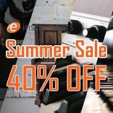 e-instruments - Summer Sale: 40% OFF