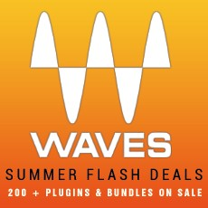 Waves Summer Flash Deals