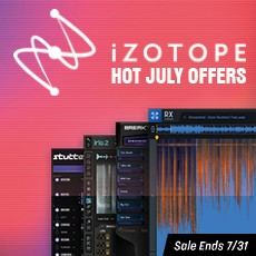 iZotope Hot July Offers