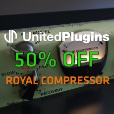UnitedPlugins Sale - 50% OFF Royal Compressor
