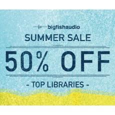 Big Fish Audio - Summer Sale - 50% Off