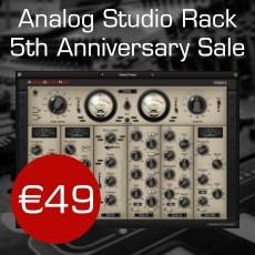 Nomad Factory - Analog Studio Rack - 5th Anniversary Sale