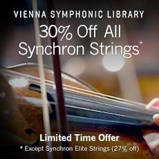VSL - 30% Off Synchron String Libraries