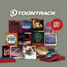 Toontrack - Songwriting September - 20 % Off