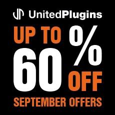 UnitedPlugins - September Offers