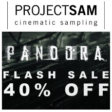 Project SAM Pandora Flash Sale: 40% OFF