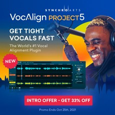 Synchro Arts - 33% Off VocAlign Project 5