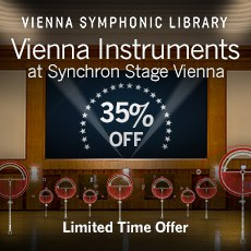 Vienna Symphonic Library - 35% Off
