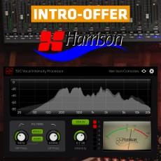 Harrison Consoles - 32C Vocal Intensity Processor Intro Offer