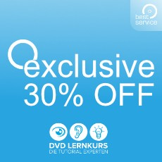Exklusiv bei Best Service: 30% Rabatt auf DVD-Lernkurs