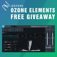 iZotope Ozone Elements - Free Giveaway