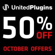 UnitedPlugins - October Offers