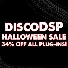 discoDSP - Halloween Sale - 34% Off