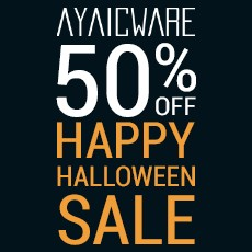 AyaicWare - Happy Halloween Sale