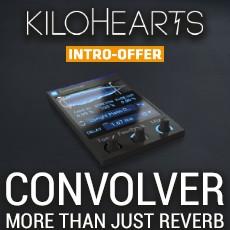 Kilohearts Convolver Intro Offer