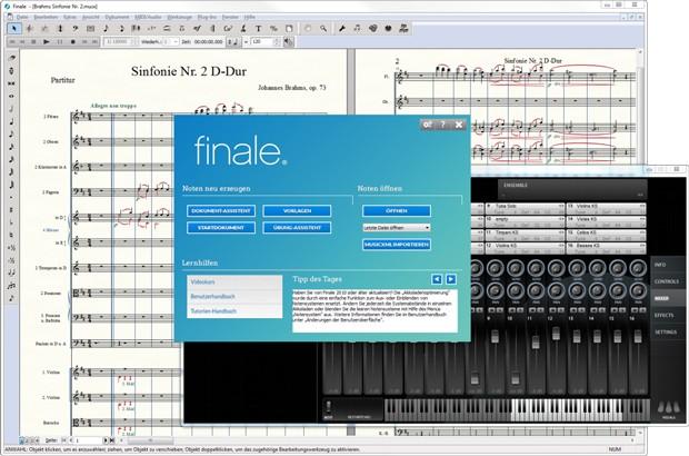 Finale 25 Screenshot