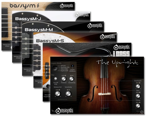 As Bass Collection Screens