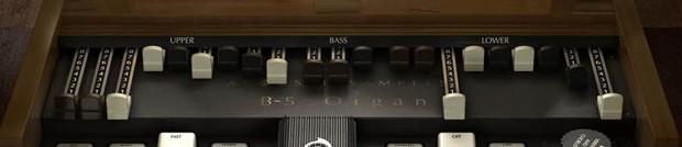 B 5 Organ Header