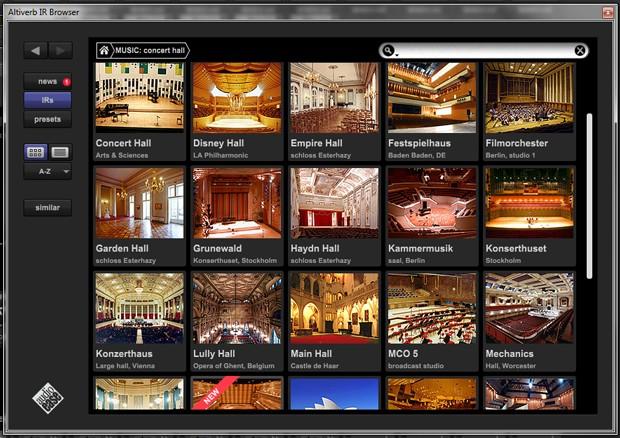 Browser Screen