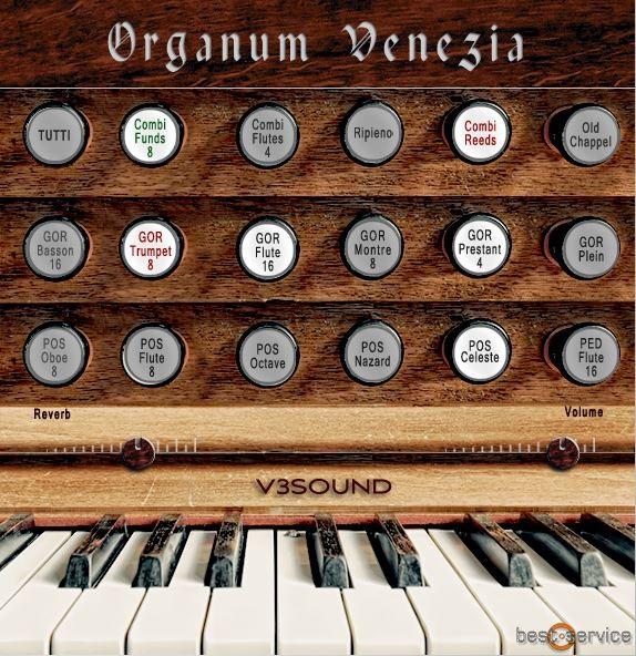 Organum Venezia Interface