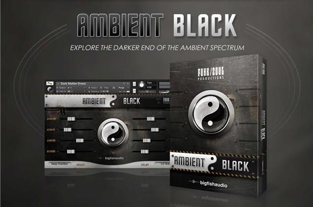 Ambient Black Header