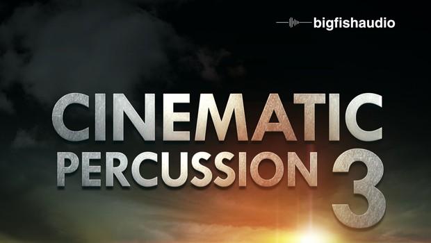 Cinematic Percussion 3 Header