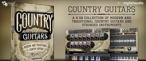 Country Guitars Header