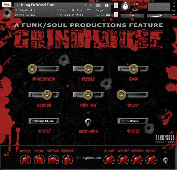 Grindhouse GUI Screenshot