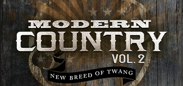 Modern Country Vol.2 Header