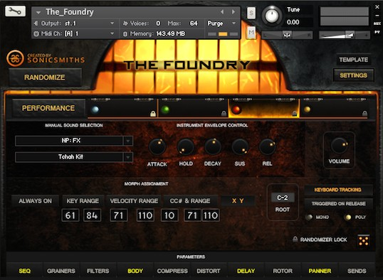 The Foundra Instruments