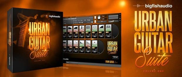 Urban Guitar Suite Header