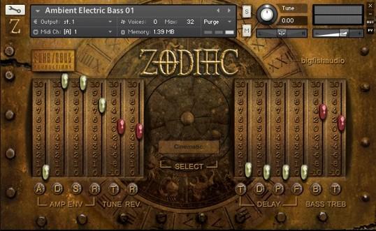 Zodiac Screen