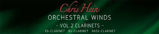 CHW Vol. 2 Clarinets banner
